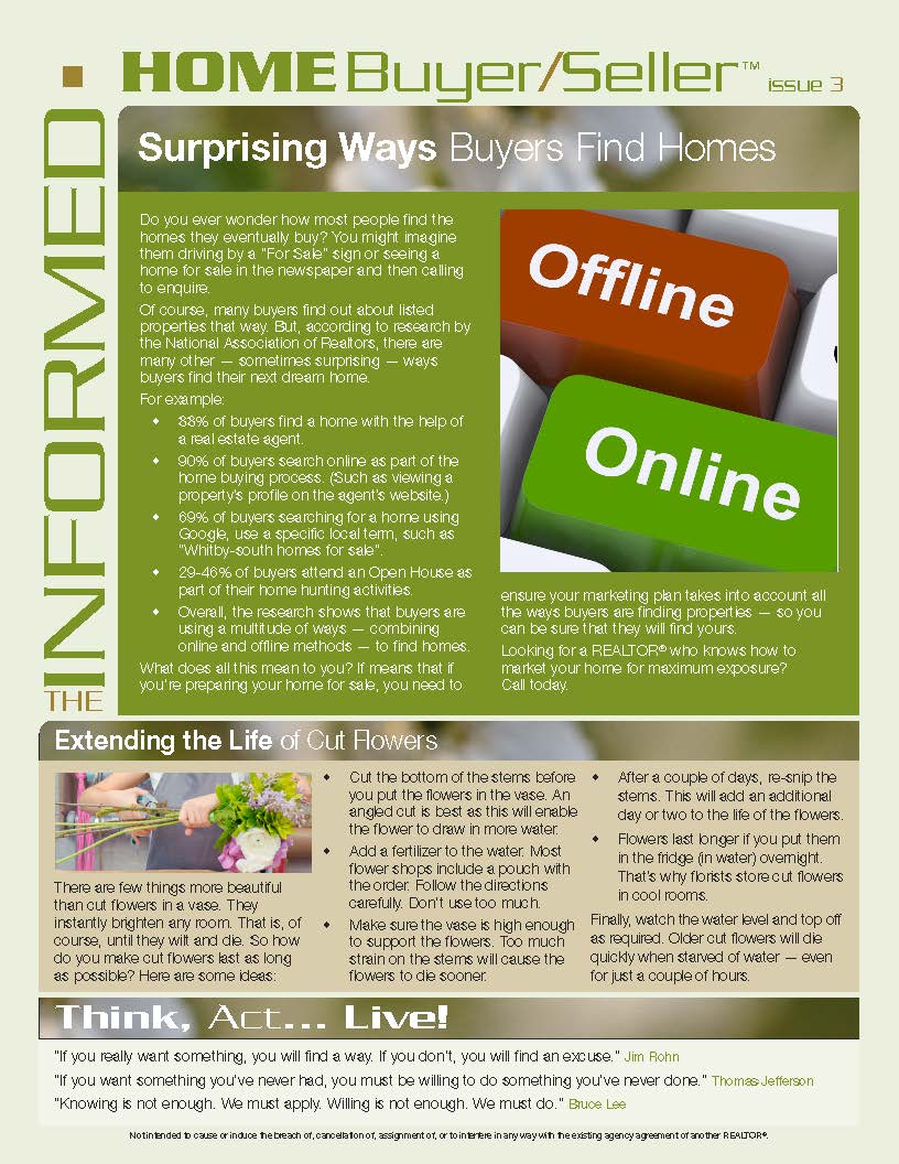 Informed Home Buyer March 16